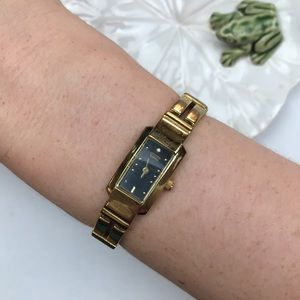 Citizen vintage yellow gold watch water resistant